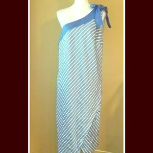 Glamour by lane Bryant sz 14 one shoulder dress